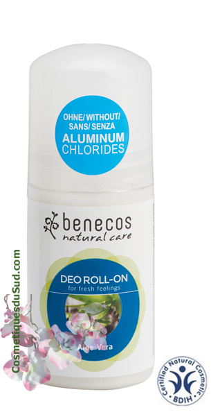 Déodorant Roll'on Aloe Vera Bio - 50ml