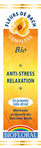 Complexe N  9 Relaxation Anti Stress Bio sans alcool