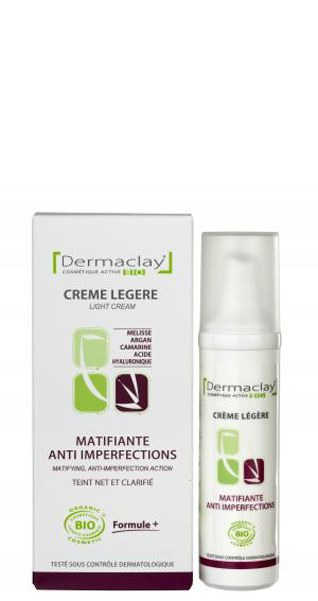 Crème de Jour Matifiante Anti Imperfection - 50 ml