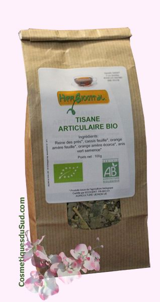Tisane Herboristerie BIO Articulaire Complexe 5-plantes - 100g