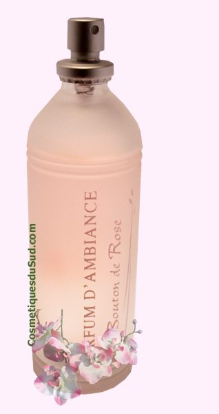 Bouton de Rose - parfum d'ambiance en spray - 100 ml