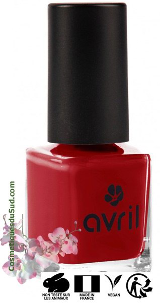 Vernis à Ongles Rouge Opéra